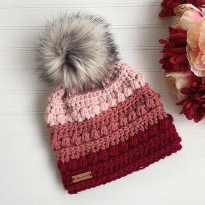 Handmade crochet beanie 🖤